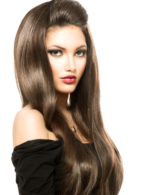 Chestnut Brown 6 Tape In Hair Extensions Free Shipping Hair