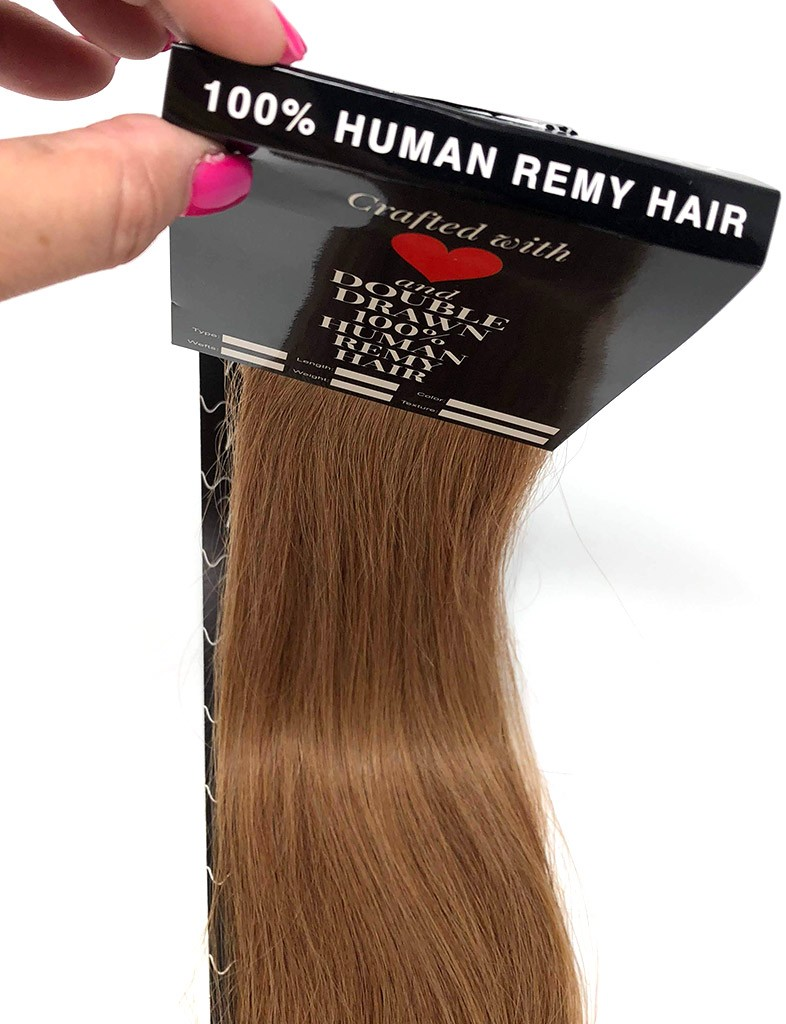medium ash brown 10 tape in hair extensions free shipping hair