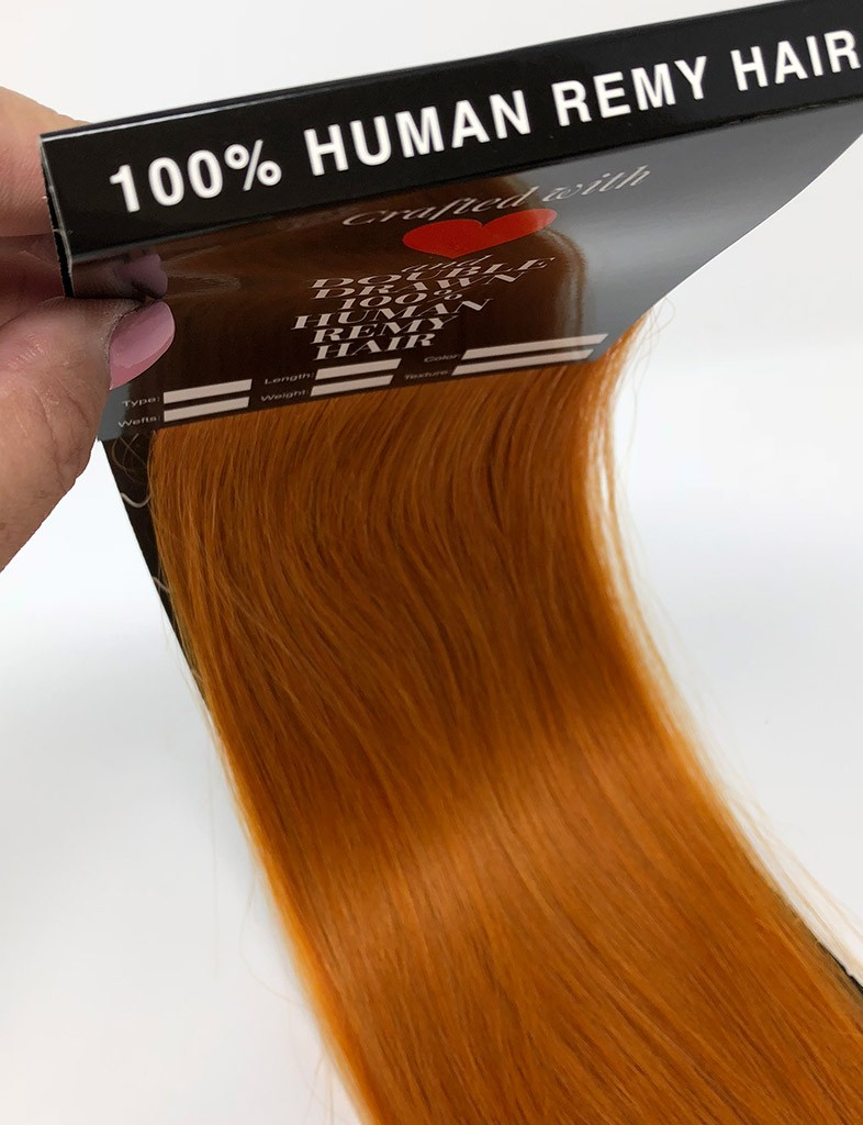 Golden Pink Blonde 350 Tape In Hair Extensions Free Shipping