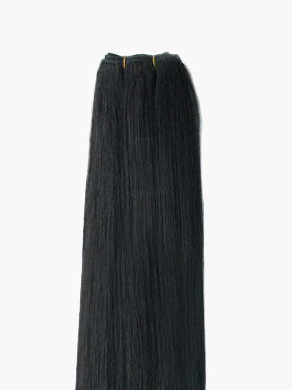 Indian Virgin Natural Black Hair Wefts - Straight