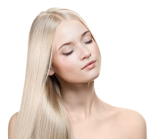 Hair Extensions Color Ash Blond #60