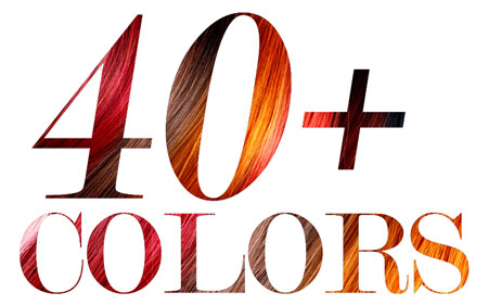 Hair Extensions In Multiple Colors & Textures