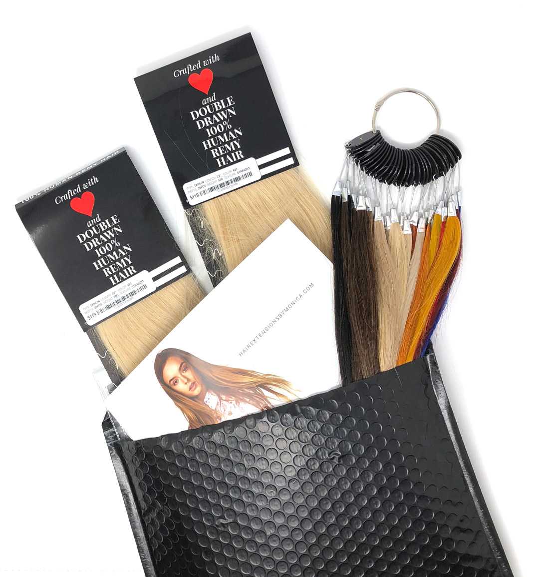 Free Hair Extensions Starter Kit